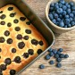 lemon-berry polenta cake